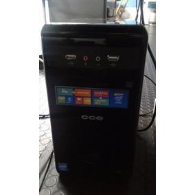 Computador Cce Semi Novo - Cpu + Monitor 14