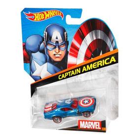 Auto Exclusivo Del Capitan America!!! Hotweels!!