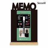 2 Pizarra Acrilica De Mesa, Memo , Pizarron Securit