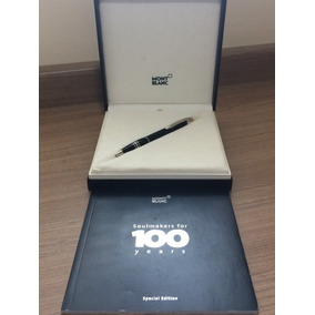 Caneta Montblanc Original Ed Limit 100 Anos Diamante