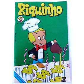 Riquinho Nº 105: O Pobre Menino Rico - Rio Gráfica - 1976