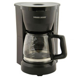 Cafetera Con Filtro 5 Tazas Black & Decker Dcm601b-negro