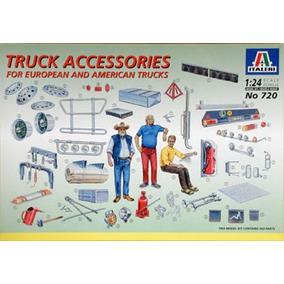 Truck Accesories (kit Plástico), 1/24. Italeri.!