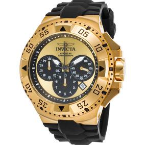 8fc13e07de8 Relógio Invicta Excursion 11907 Banhado À Ouro 18k - Relógios De ...