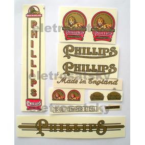 Adesivo Phillips Decalques Bicicletas Antigas Colante
