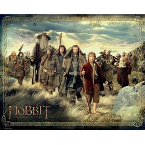 The Hobbit Poster Licenciado - Alt. 61. Cm Larg 91.cm. Raro