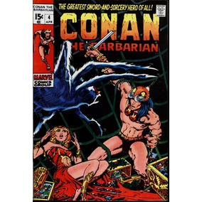 Conan #4 Abr De 1971 Marvel 8.5 (importado)