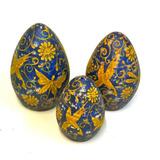 Huevos Ceramica Pintado A Mano