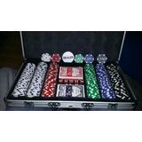 Jogo De Poker, Maleta Com 300 Fichas Profissionais