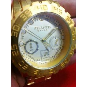 ee361635cf7 Relogio Atlantis Style A3311 - Joias e Relógios no Mercado Livre Brasil