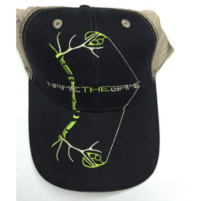 Gorra Name The Game Verde Negro Camo