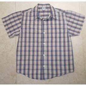 Old Navy Camisa A Cuadros Para Niños Talla 10 2954b82a0e457