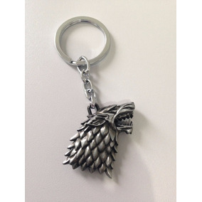 Chaveiro Game Of Thrones Casa Stark -pronta Entrega