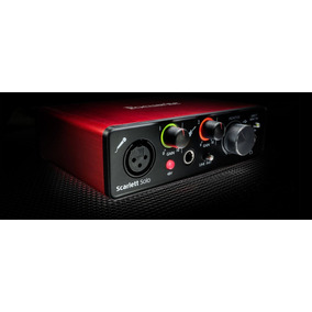 Placa Sonido Externa Interface Focusrite Scarlett Solo Usb
