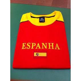 Camiseta Da Espanha 6ebcd6e5fb9e5