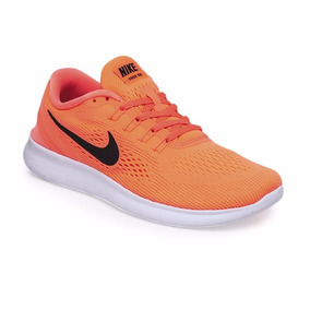 zapatillas nike mujer naranjas