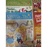 Revistas Pintar Tela, Madera Y Navidad 4 Pack