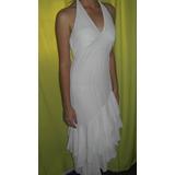 Vestido De Fiesta Blanco Elegante Juvenil Bello
