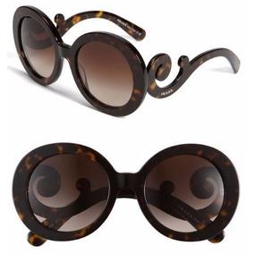 ec39ca36a45c7 Oculos Prada Baroque Tartaruga Marrom De Sol - Óculos no Mercado ...