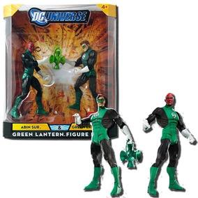 Dc Universe 2 Pack Green Lantern (lanterna Verde) & Abin Sur