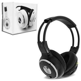 Fone De Ouvido Headphone Techone - Sem Fio P/ Dvd - Preto