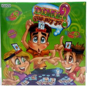 Dime Quien Soy Yo Juego Para Adultos Juegos De Mesa Estrategia En
