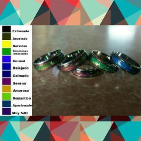 Anillo Del Humor Electrocardiograma Cambian De Color 9f4fce17216