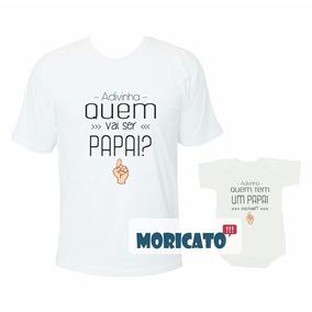 Camiseta Com Frase Que Vai Ser Pai Camisetas Para Masculino No