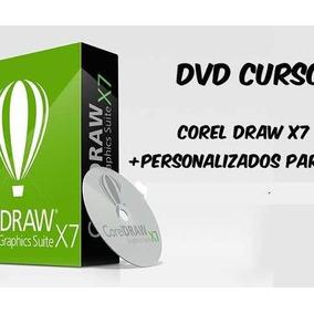 Curso Corel Draw X7 Video Aulas + Curso De Personalizados