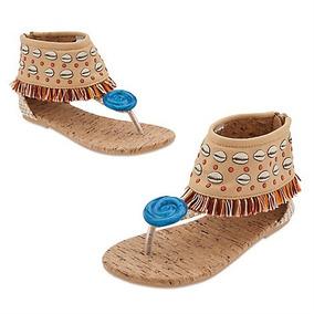 Zapatos Moana Disney Store Sandalias Para Disfraz 6bdb5fab3441