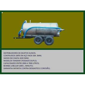Distribuidor Esterco Líquido Inox