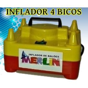 db05796095a27 Inflador Compressor 4 Bicos Tufao no Mercado Livre Brasil