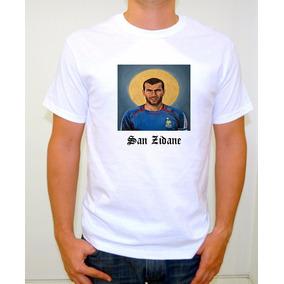 Camiseta Sublimada Santos Futbolistas / Zidane / Maradona