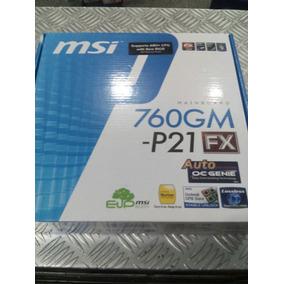Tarjeta Madre Msi 760gm-p21 Fx Socket Am3+