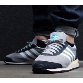 save off 20c18 6ce98 Zapatos adidas Marathon 85 Grey White Talla 6.53924.5 Cms