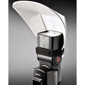 Difusor Rebatedor Universal Para Flash Nikon Canon Sony Etc