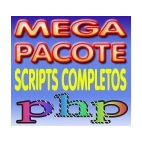 Pacote Com Mais De 10.000 Scripts Php