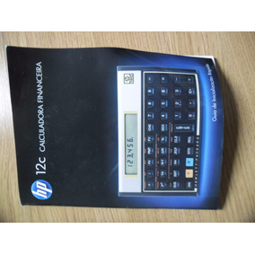 Manual Da Calculadora Hp 12c--- Envio Por Carta