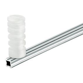 10 Haste De Alumínio Estrela 75 Cm + 1 Rolo De Fio 0.45mm