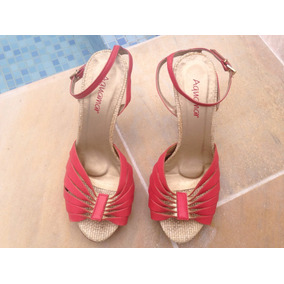 c7dda7bd88 Sapatos Via Mia - Sandálias e Chinelos no Mercado Livre Brasil