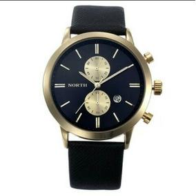 188424267d8 Genuine Leather Relogios - Relógios De Pulso no Mercado Livre Brasil
