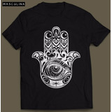 Camiseta Hamsa Masculina Camisa