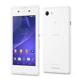 Smartphone Sony Xperia E3 D2212 Branco Quad Core Android 4.4