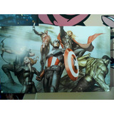 Avengers Cuadro Marvel