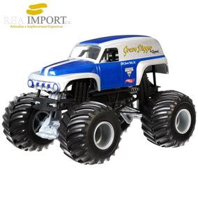 Hot Wheels Monster Jam Vehículo Escala 1:24 Grave Digger Car