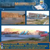 Piscinas Con Detalle Construccion Montenegro