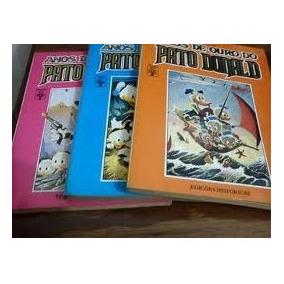 Anos De Ouro Do Pato Donald: 3 Volumes - Walt Disney