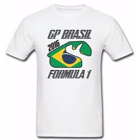 Camisa Mercedes Gp Brasil Mclaren Fórmula1 Hamilton Senna 22dfba0628d