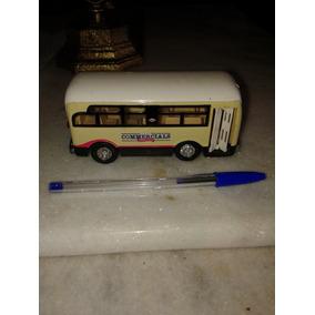 Ônibus De Brinquedo 13x5x 6 Cm