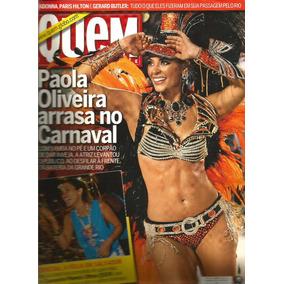 Revista Quem 493/2010 - Paola/sabrina/madonna/ivete Sangalo